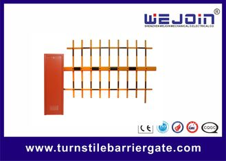 चीन 120W Access Control Barrier Gate for Parking System Compatible with Personal Computer फैक्टरी