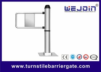 Traffic Light  Swing Barrier Gate 110v / 220v With Steel and Aluminum Alloy Motor