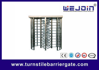 चीन Office / Hospital Full Height Turnstile Barrier Gate For Access Control फैक्टरी