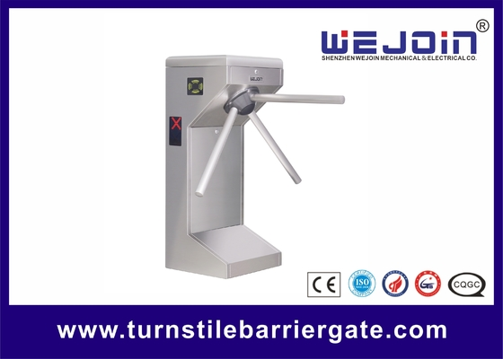 Supermarket Safety Tripod Turnstile Barrier Gate for Customers Access Management