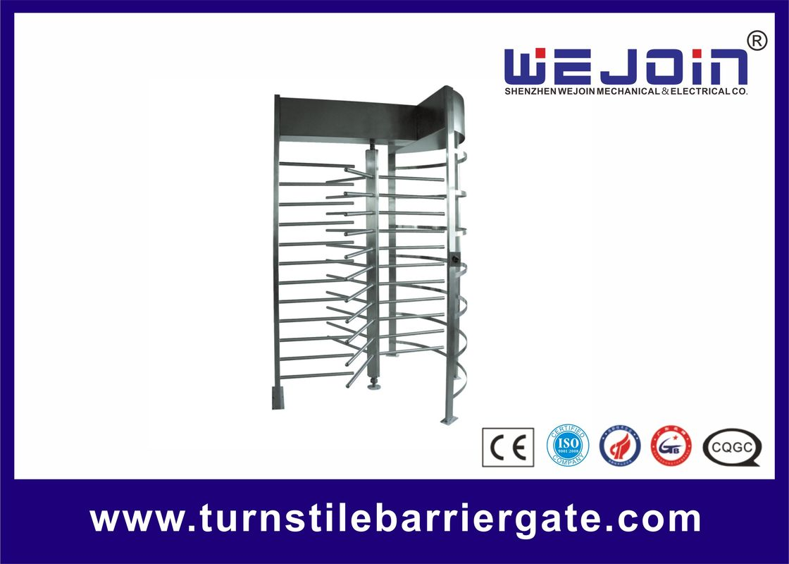Exhibition Stainless Steel Access Control Turnstile Gate Standard RS485 आपूर्तिकर्ता