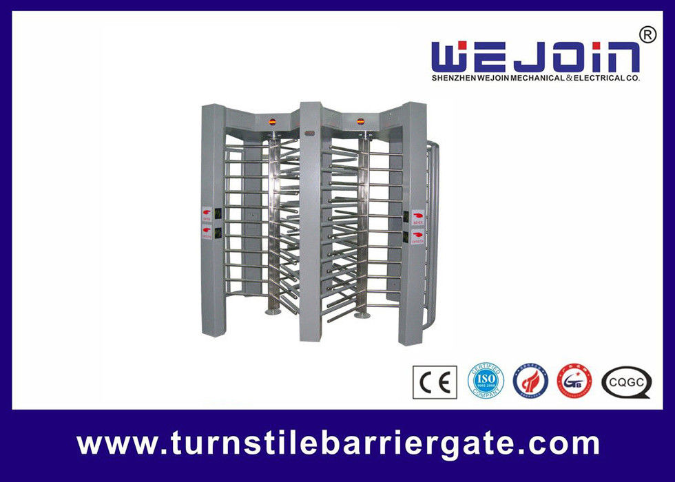 double routeway  stainless turnstile gates , full height turnstile ,  office building gate security gates , manufacture आपूर्तिकर्ता