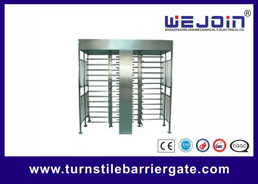 Full Height Access Control Turnstile Gate for IC , ID , magcard ,bar code आपूर्तिकर्ता