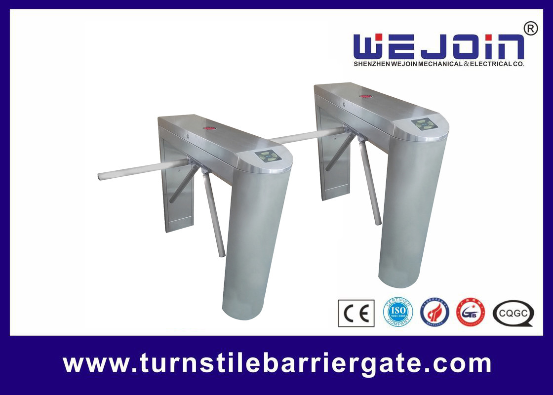 Durable Access Control Barriers Counter Esd Fingerprint Rfid Tripod Turnstile Gate