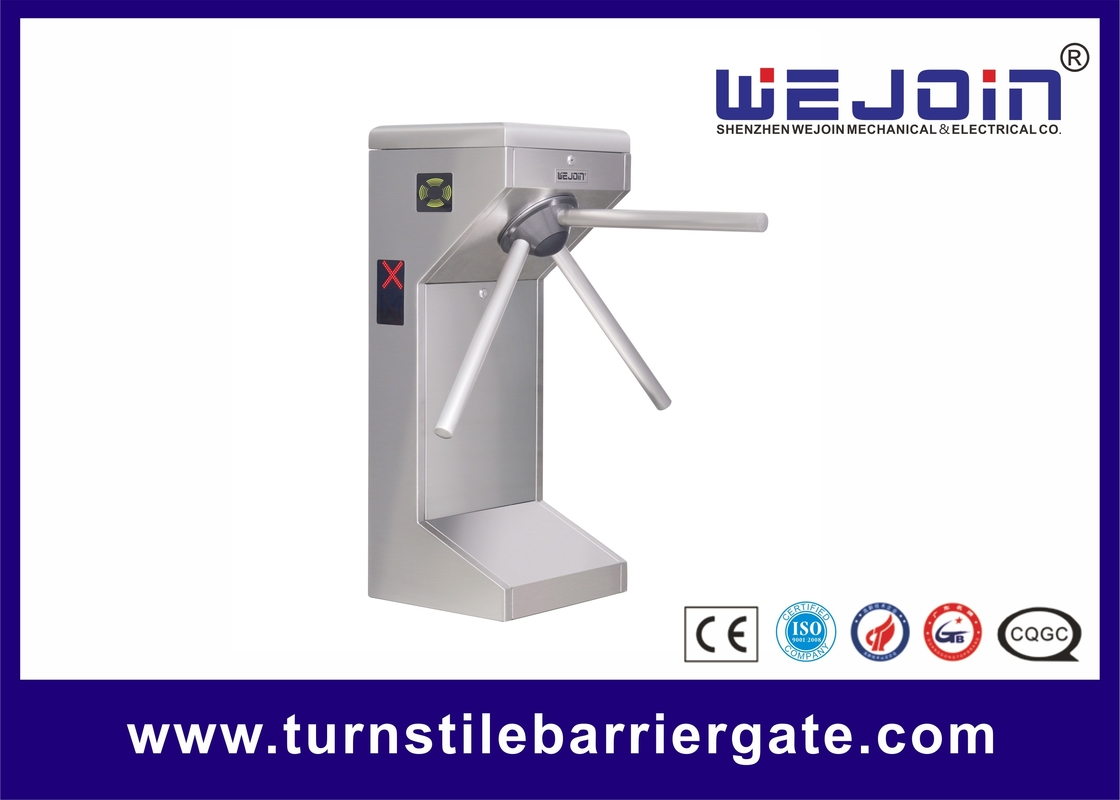 Supermarket Safety Tripod Turnstile Barrier Gate for Customers Access Management आपूर्तिकर्ता